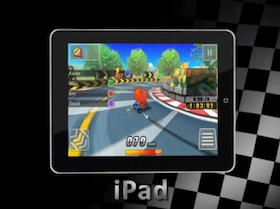 用 iPhone、iPad 也能玩跑跑卡丁車
