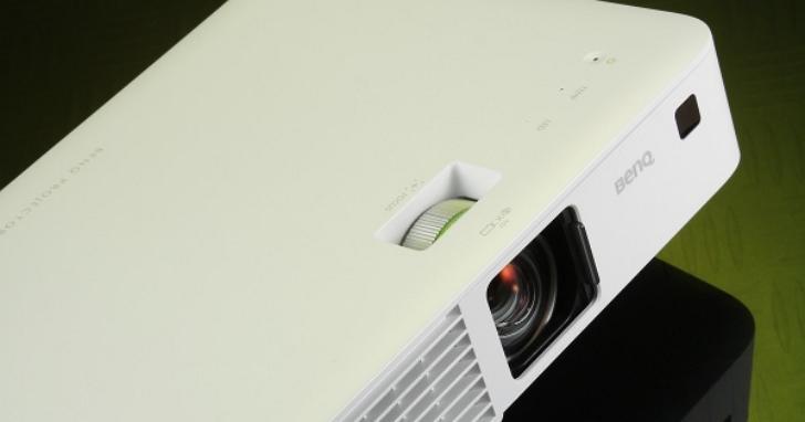 商務投影機也可以簡約時尚-BenQ CH100