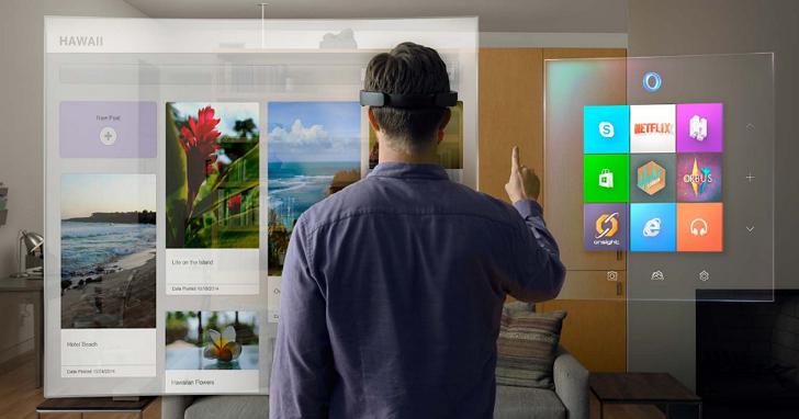 意外!微軟Hololens 擴增實境眼鏡的硬體規格首度公開,竟與一般手機差不多?