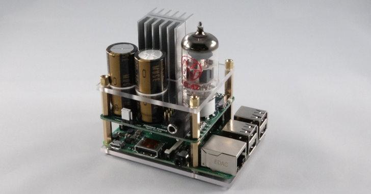 迷你電腦也發燒,Raspberry Pi專用的真空管擴大機登場 | T客邦