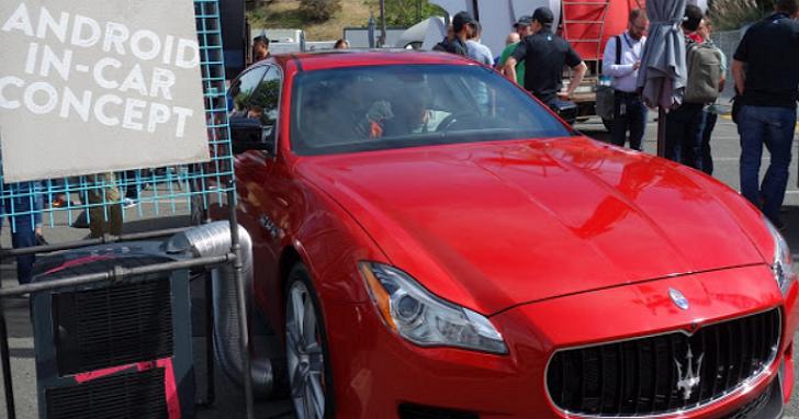 隱藏在這台瑪莎拉蒂Ghibli外觀下,是一台Android in-car概念車