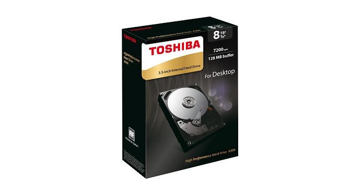 投入 8TB 戰場,Toshiba X300 系列硬碟新增 8TB 容量