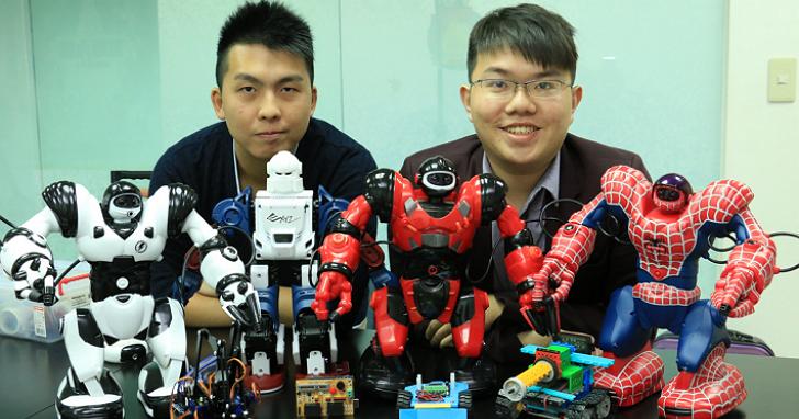 「宇宙機器人」陳奕學:翻轉自學,推動平民化機器人普及教育理念