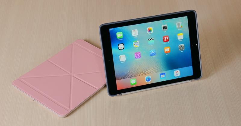 iPad Pro 貼身守護者!Moshi 多角度前後保護套開箱