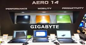 Gigabyte 於 Computex 發表 Aero 14,亮橘外型超亮眼、電競規格藏於機身