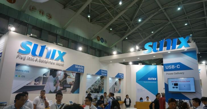 Sunix推出多款USB裝置,新款USB Type-C擴充座還支援電力傳輸!