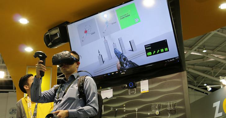 ZOTAC展出不受線制的VR行動背包,但大多數人都不敢踏出那「一步」