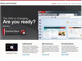 正式版才算數,Opera 11 率先奪回瀏覽器一哥