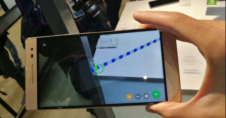 首款 Google Tango 手機現身:聯想發佈 Phab2 Pro ,3D環境感應技術將助力AR/VR