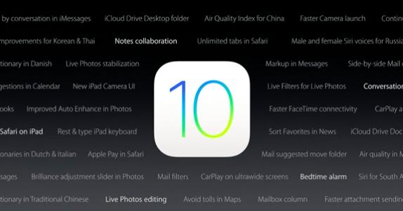 iOS 10 十大更新快速掃描!致敬部分 Android 功能,應用更強大