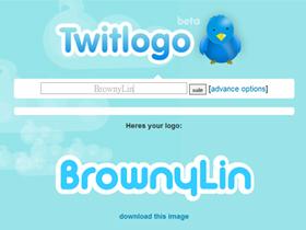 雲端訂作仿 Twitter Logo:Twitlogo