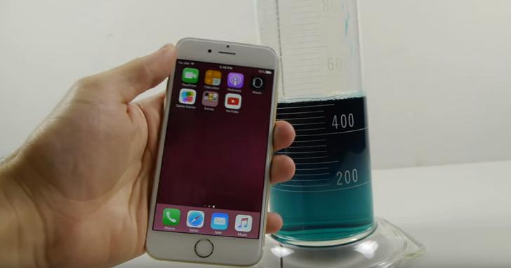 這名網友拿著iPhone 6s做「大象牙膏」實驗,iPhone 6s瞬間被秒殺