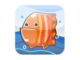 iPhone益智小遊戲:Fish Draw