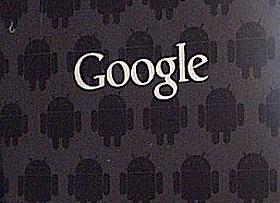 電池蓋上的機器人 Google Nexus S 限定版
