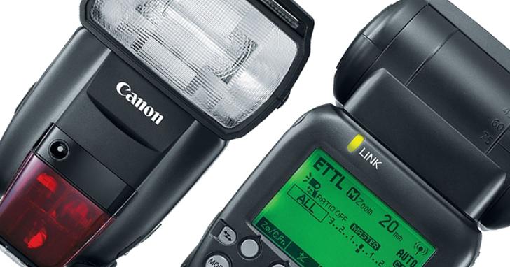 Canon 發表新一代旗艦級閃燈 Speedlite 600EX II-RT