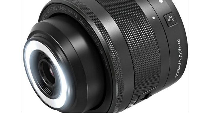 EOS M 首顆微距鏡,內建環形補光燈!Canon EF-M 28mm f/3.5 Macro IS STM 售價公佈