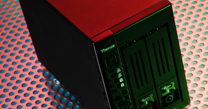 Thecus N2810PRO- 小巧而齊備的商務應用型 NAS