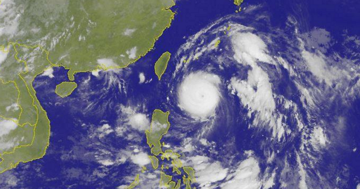 尼伯特颱風跑到哪?颱風動態、停班停課與即時降雨 懶人包總整理