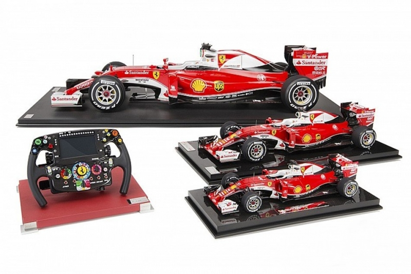 「1:4」的F1熱血賽道魂!Amalgam Collection推出最新作品「Scuderia Ferrari SF16-H」