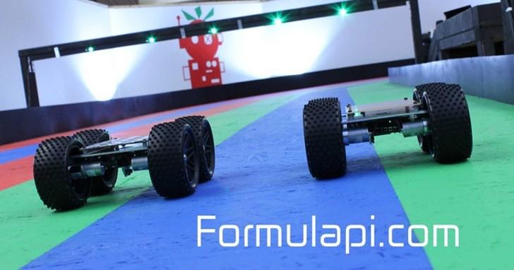 Formula Pi自駕車大賽,派你的Raspberry Pi上場駕車