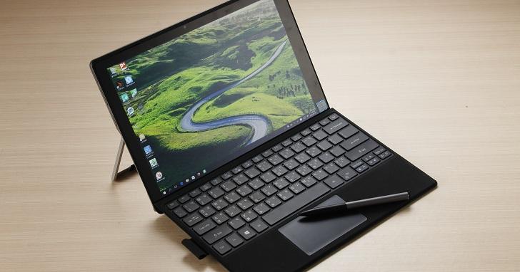 Acer Switch Alpha 12 評測:零噪音 12 吋無風扇二合一筆電