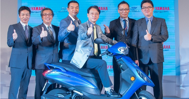 YAMAHA推出新世代國民車「勁豪125」,每公升汽油平均油耗56.8km