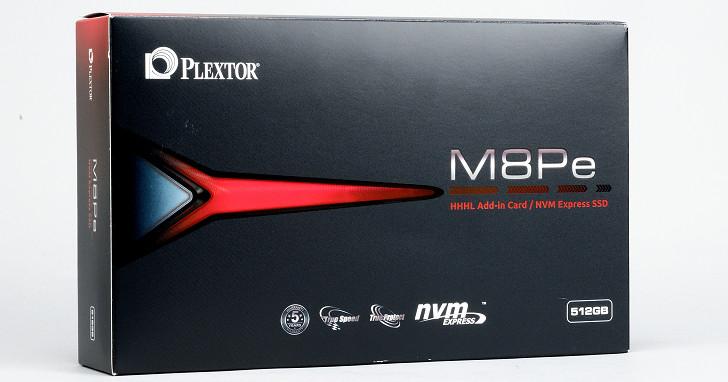 PCIe 3.0 NVMe 固態硬碟新選擇,Plextor M8PeY 性能實測