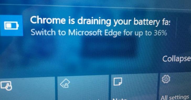 Windows 10 的通知欄,為什麼會成為微軟 Edge 瀏覽器的廣告看板?