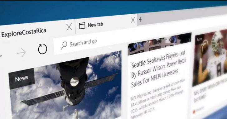 Microsoft Edge 瀏覽器的 Windows 10 周年更新特點完整解析