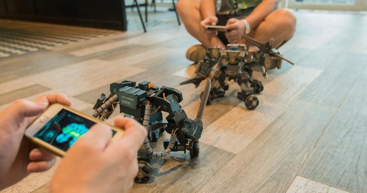 實體機器人對打,Ganker讓你滿足你的格鬥欲望