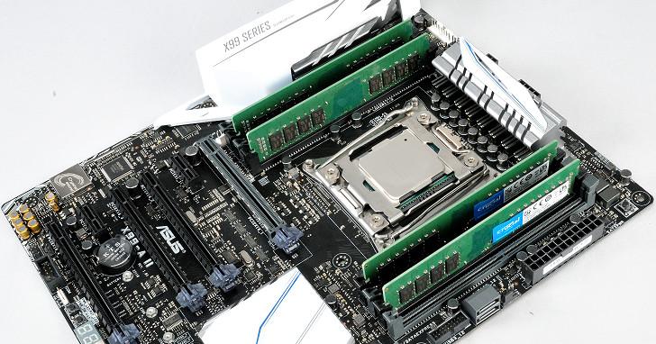 Crucial vs. Kingston:原生 DDR4-2400 16GB 記憶體模組實測