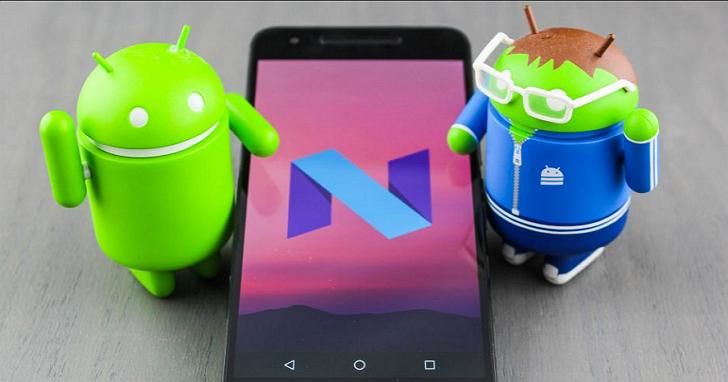 牛軋糖Android 7.0新系統,正式開放更新