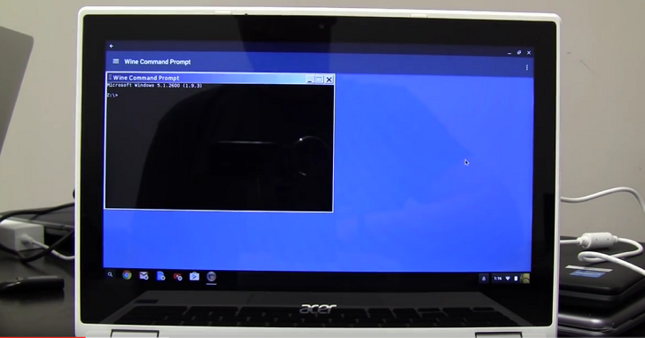 Chromebook 除了相容 Android App,還能用這招執行 Windows 程式
