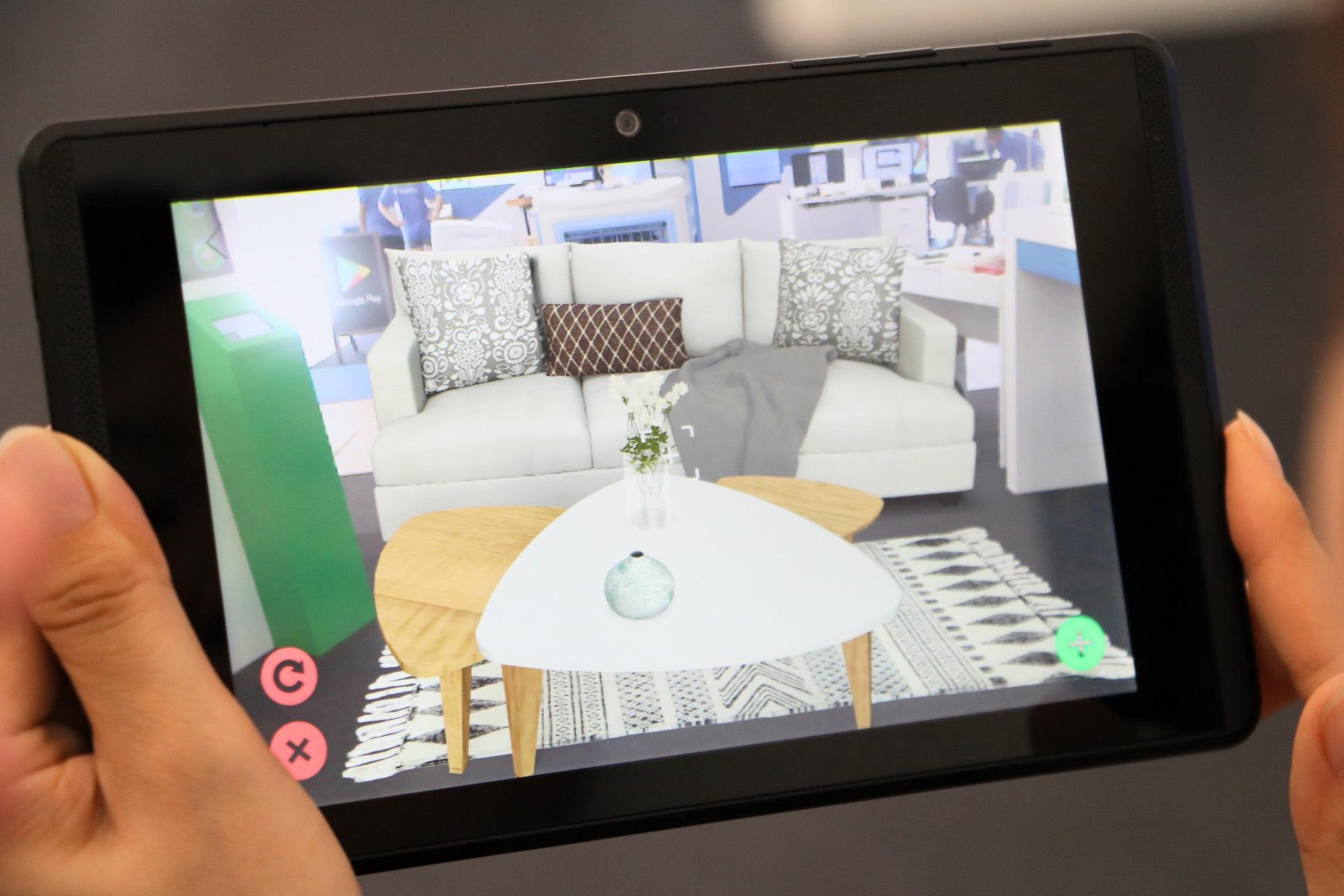 Google Project Tango技術怎麼用?iStaging讓你在家模擬家具擺設還可以丈量尺寸