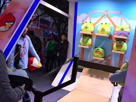 好大一隻鳥:Angry Birds 實體化入侵