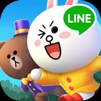 LINE 3D 跑酷遊戲《LINE RUSH 跑跳碰樂園》今日上線!