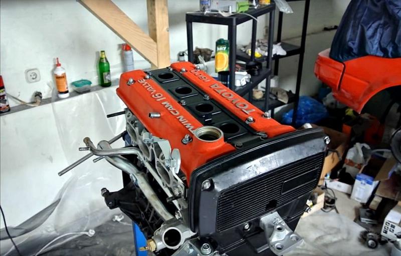 兩分鐘讓你看完,Toyota 4A-GE引擎從無到有的奇幻組裝旅程!