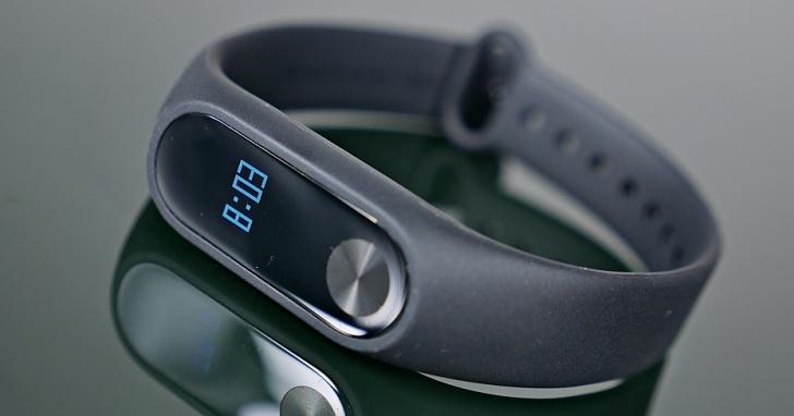 有螢幕的小米手環 2 代將在 9/8 上市,台灣售價台幣 865 元