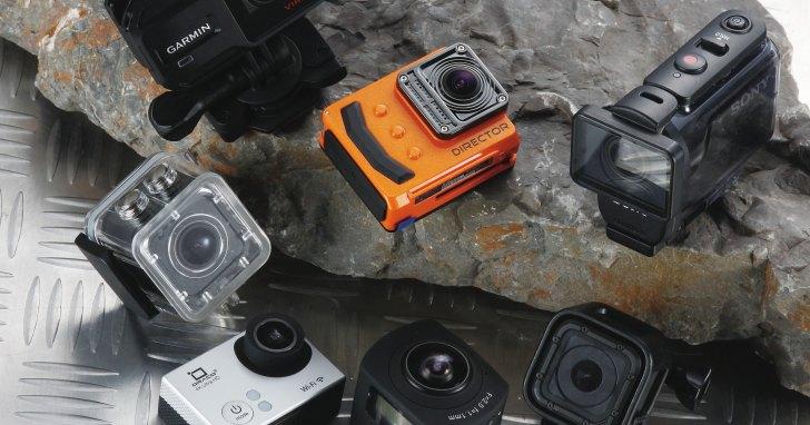 關於運動攝影機的採購重點:除了解析度,你還該注意哪些規格與功能?