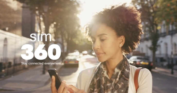 走遍世界都可免費發訊息,Sim 360每年只收你300元