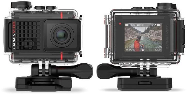 具備聲控功能、彩色觸控螢幕與 4K 錄影的 Garmin Virb Ultra 30 GPS 運動攝影機正式推出