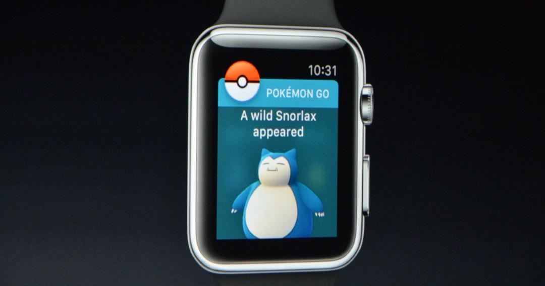 寶貝球Get!Apple Watch 上也能Pokemon Go ,可孵蛋、顯示野生寶可夢