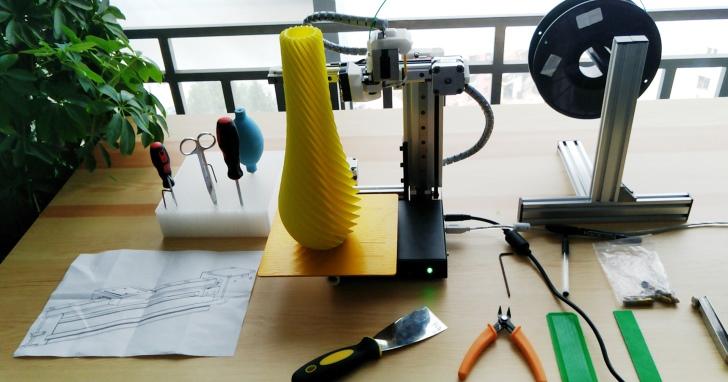 簡易3D印表機Cetus3D,預先校正開箱即可使用 | T客邦