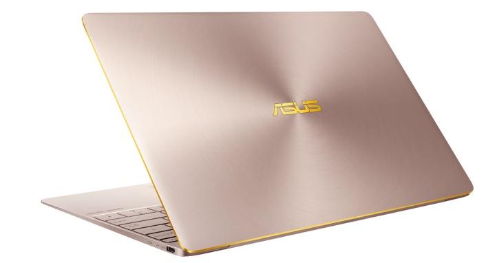 華碩 ZenBook 3 首搭 Intel 第七代 Core 處理器,玫瑰金 47,900 元開賣