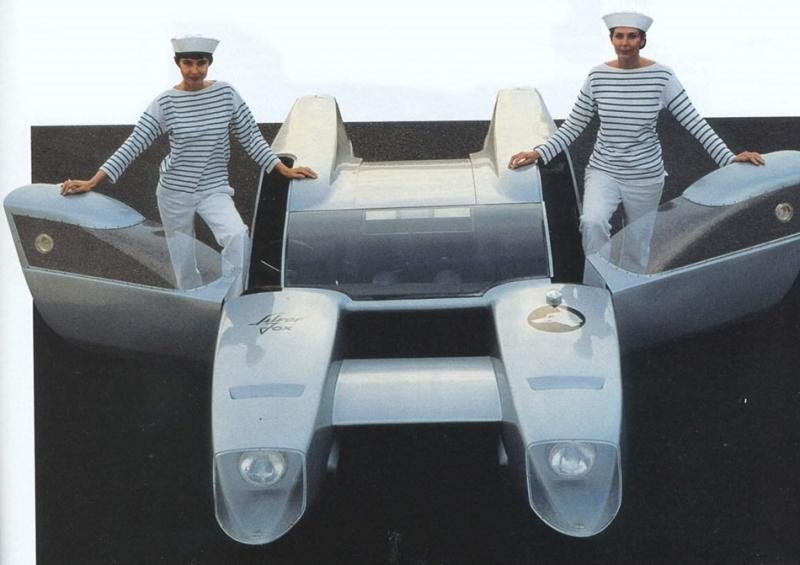 來自外星科技?這是1967年義大利車廠推出的跑車!