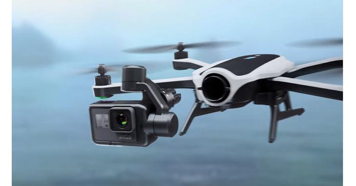 GoPro 版的無人機Karma,不但能航拍還可拆下來當手持三軸穩定雲台