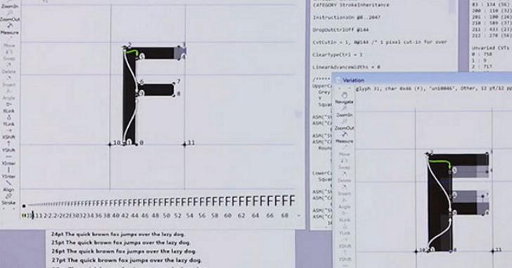 微軟、蘋果、Adobe、Google 聯合開發「可變字體」,跨平台字體支援性從此不是問題