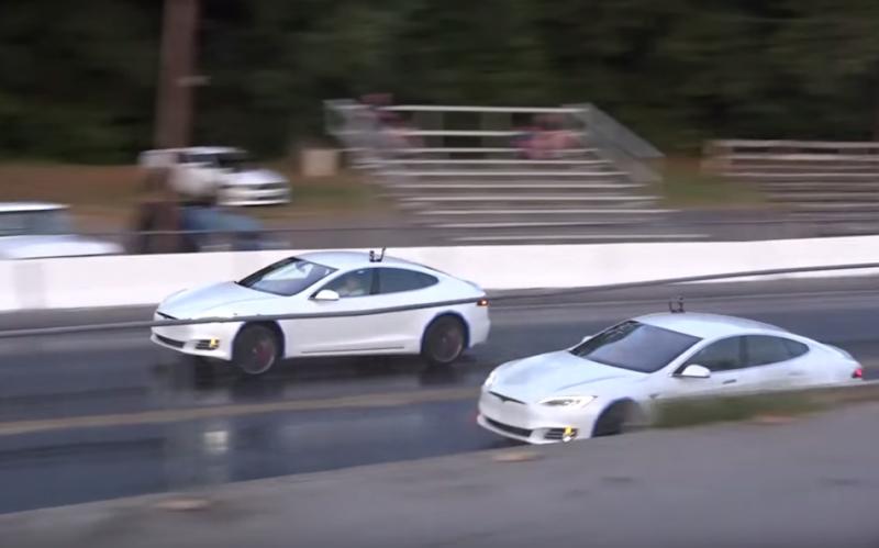 「好快」與「超快」的不同!Tesla Model S「P90D」單挑「P100D」!就算無聲仍然勁道十足!