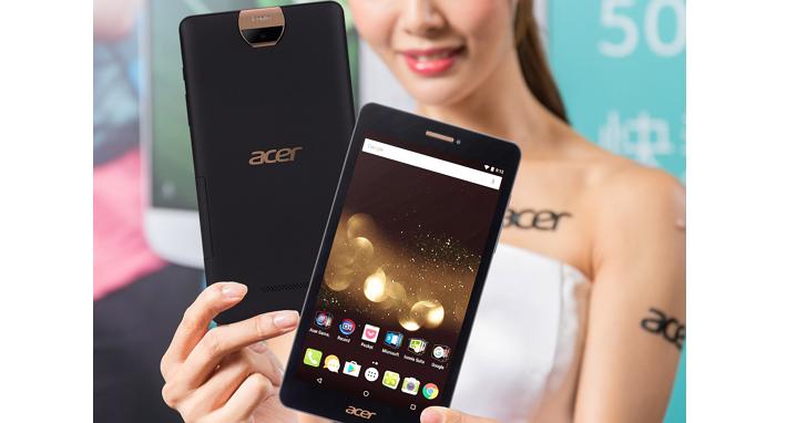 宏碁推出通話平板 A1-734,Android6.0 版本、1,300 萬相機畫素