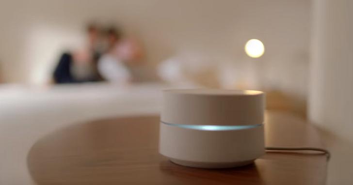 Google WiFi路由器,一次買多組可自動串連、涵蓋大範圍場地的聰明家用路由器